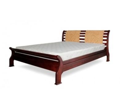 Кровать Ретро 2 бук 160х200 Тис