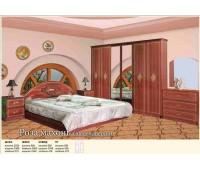 Спальня Роза (шкаф 6Д) Мебель Сервис