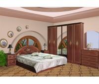 Спальня Роза (шкаф 4Д) Мебель Сервис