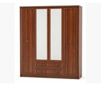 Шкаф 4Д+2Ш Дублин Мебель Сервис