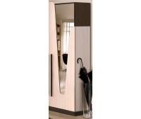 Шкаф 550 Арья с зеркалом и тремпелем Мастер-Форм