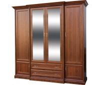 Шкаф 4Д+2Ш Людовик Мебель Сервис