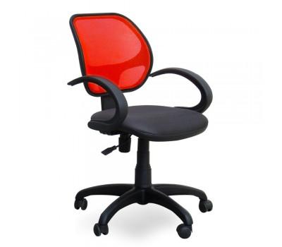 Кресло Байт сетка красная АМФ